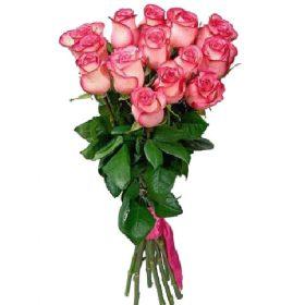 Букет «Королева» 15 роз Джумилия фото